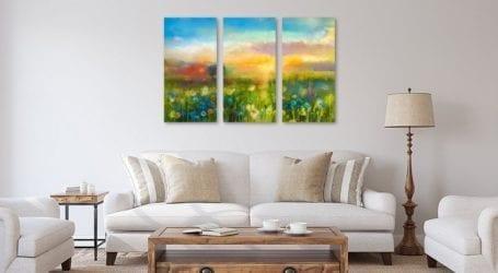 תמונת קיר לסלון – כך תבחרו את התמונה שתשדרג את הבית