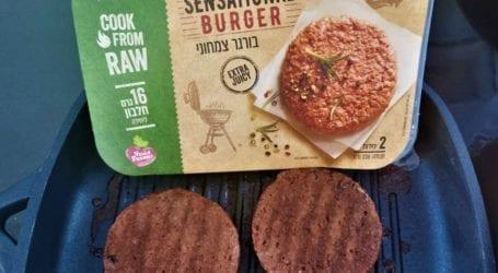 טעמנו את המבורגר סנסשיונל של טבעול: המבורגר צמחוני מפתיע