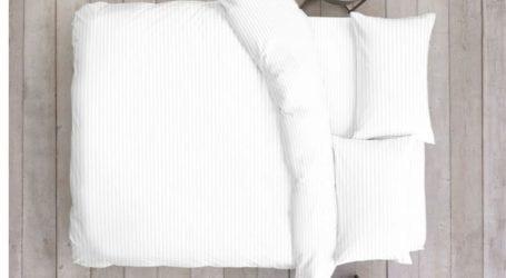 סט מצעים למיטה זוגית 100% כותנה סאטן