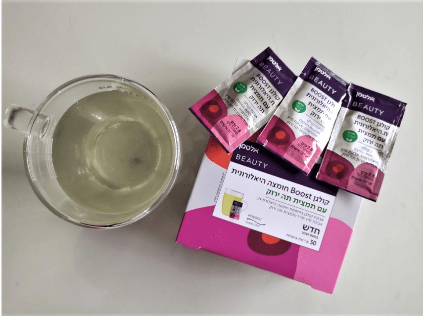 אלטמן קולגן בוסט תה ירוק
