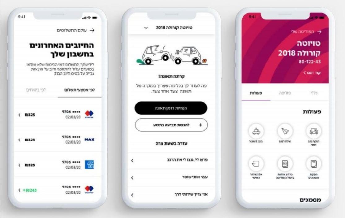 חברת הביטוח 9 - אפליקציית להזמנת ביטוח רכב