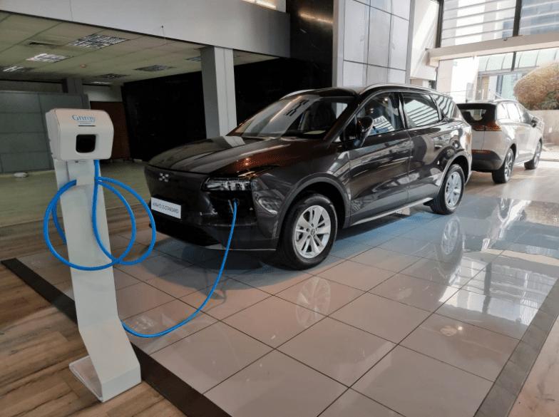 טעינת רכב חשמלי Aiways U5