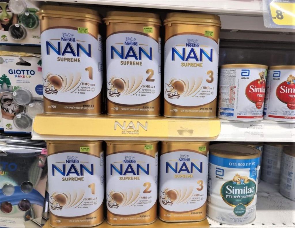 תחליף חלב NAN
