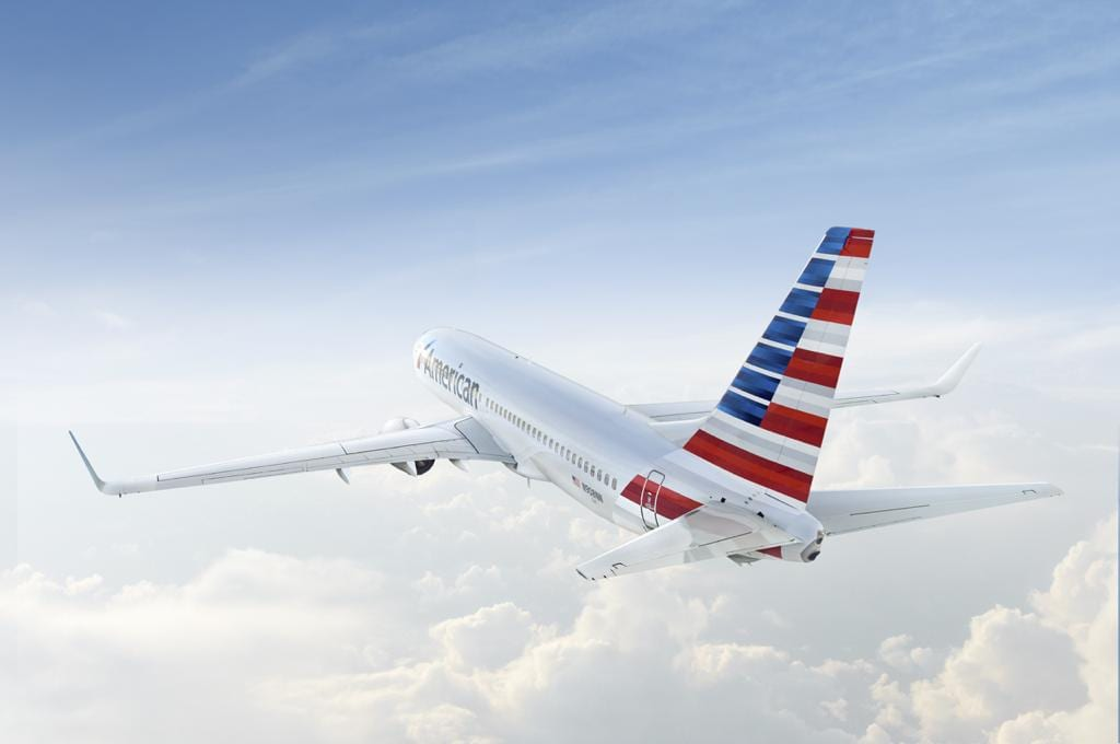מטוס אמריקן איירליינס - טיסות לניו יורק