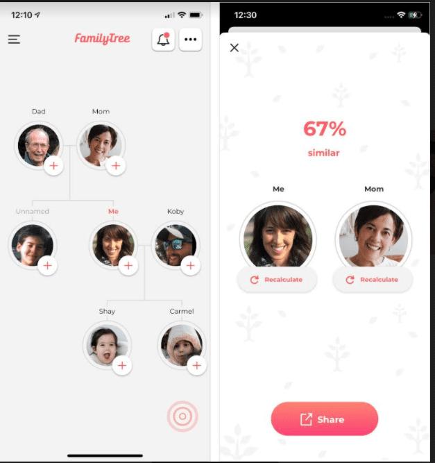 אפליקציית Photo Family Tree