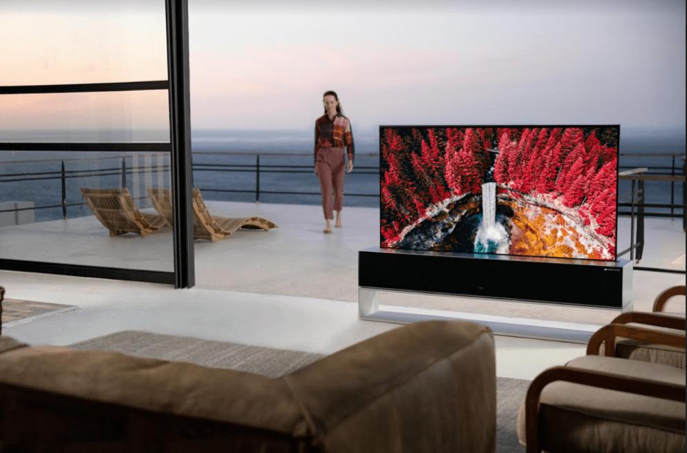 טלוויזיה נגללת של LG