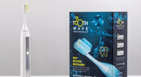 ביקורת – מברשת שיניים ToothWave עם הפטנט להלבנת שיניים