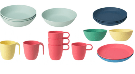 החזרת מוצרים באיקאה: צלחות, קערות וספלים עלולים להישבר בחום