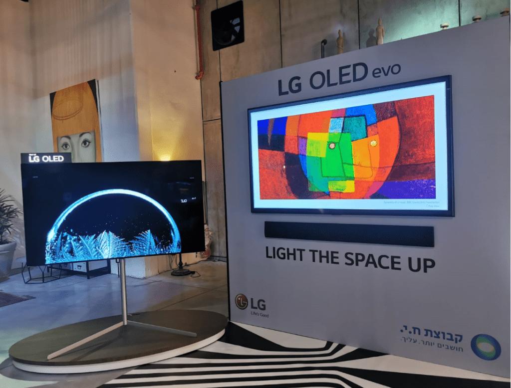טלוויזיית OLED של LG