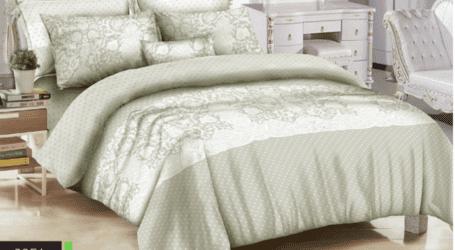 סט מצעים זוגיים או למיטת יחיד – 100% כותנה