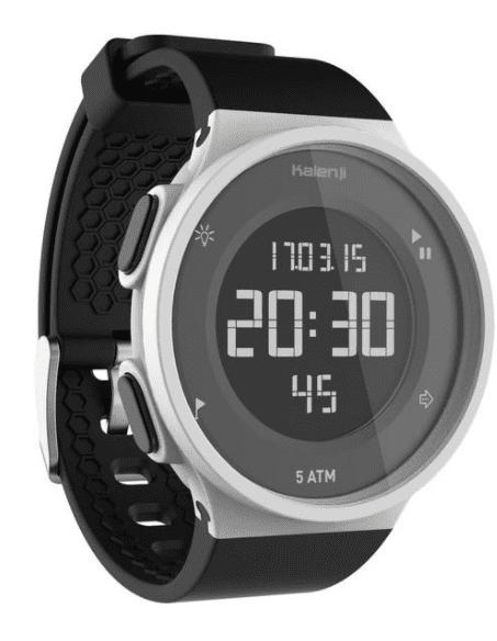 """שעון ספורט דקטלון בטרמינל X - מחיר זהה לאתר דקטלון ויותר יקר מחו""""ל"""