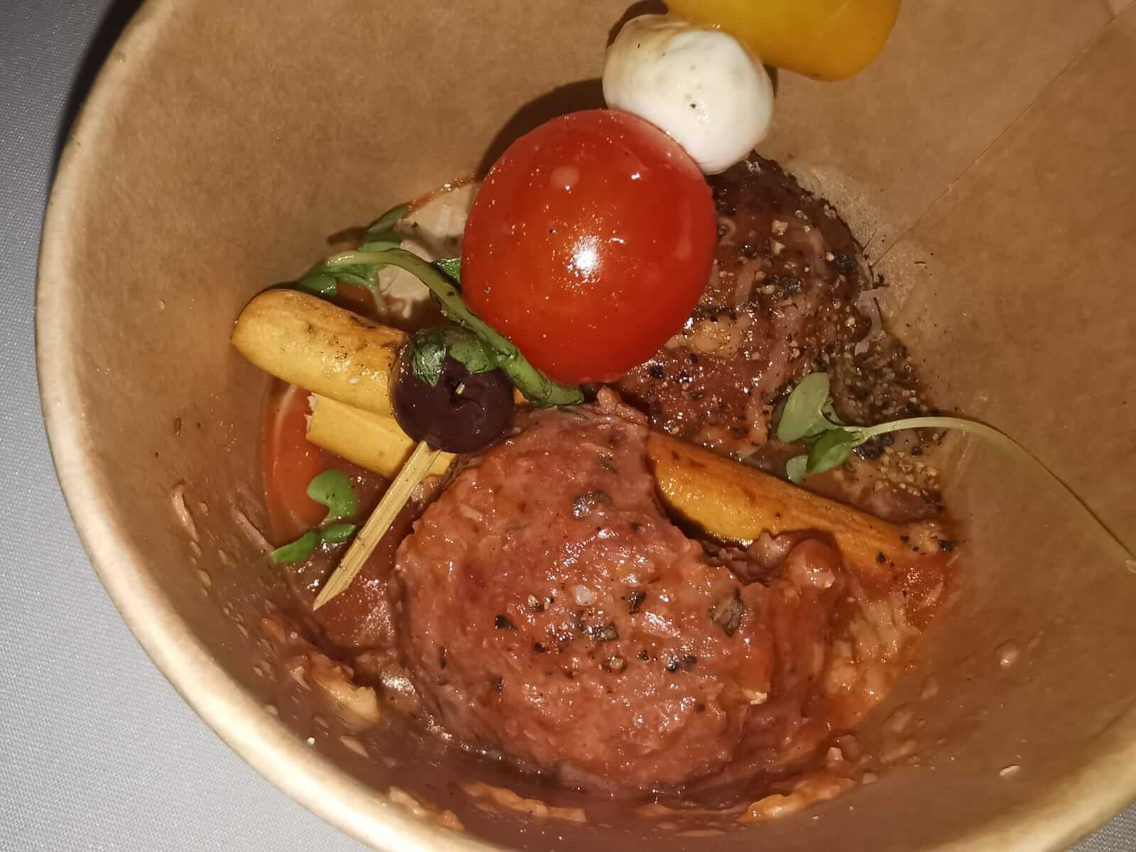 כדורי בשר חדש של REDEFINE MEAT