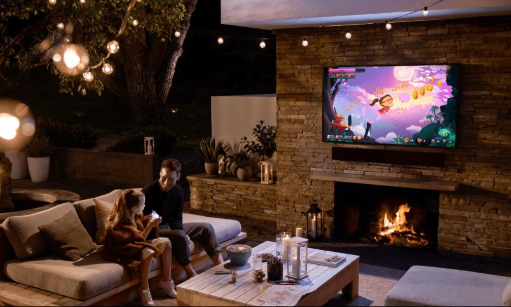 טלוויזיה לגינה