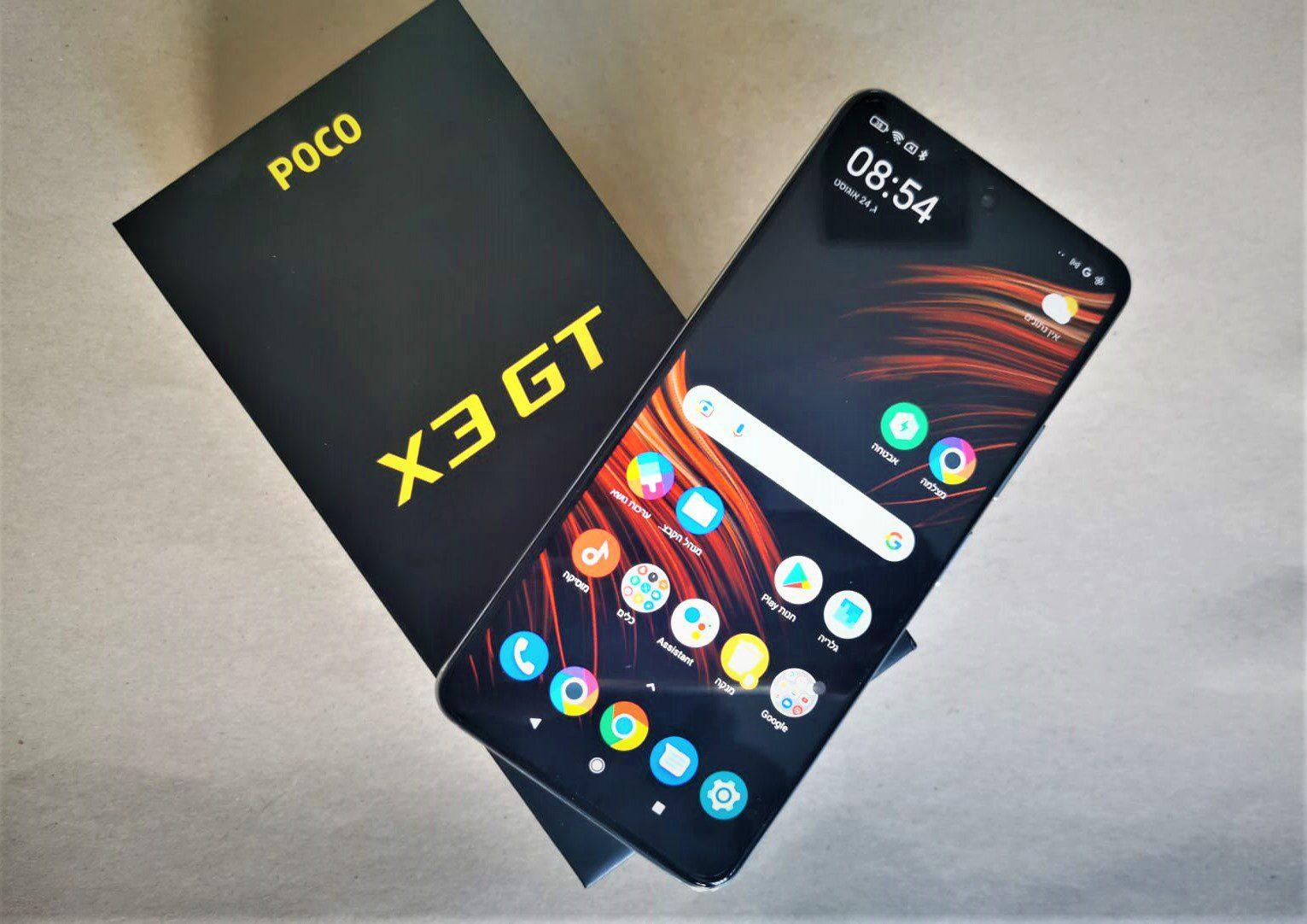 POCO X3 GT סלולרי ב-1500 שקל