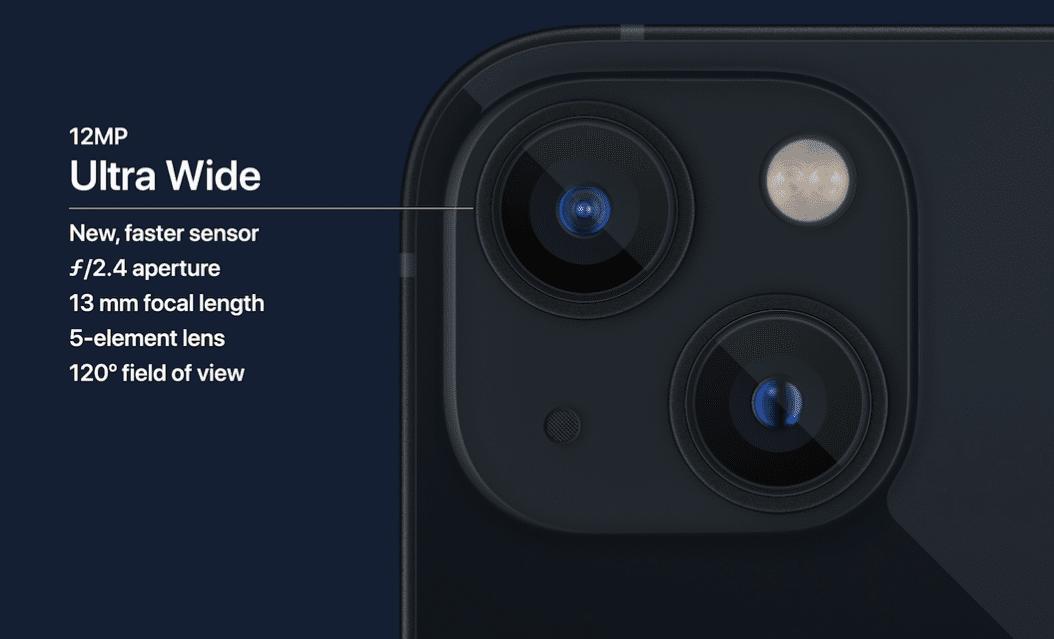 אייפון 13 פרו מקס - מצלמות