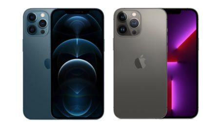מה ההבדל בין אייפון 13 פרו מקס לאייפון 12 פרו מקס?