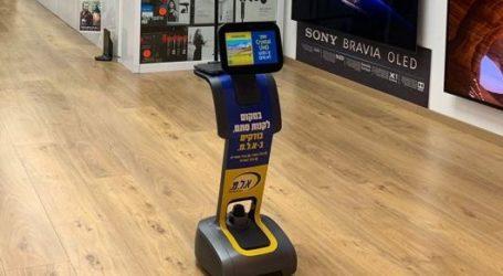 רשת אלמ גייסה לצוות המוכרים את temi: רובוט שמלווה את הלקוחות ומייעץ להם